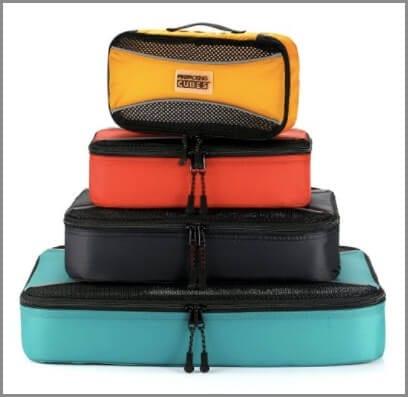 Les cubes d'emballage sont l'un des meilleurs accessoires de voyage.