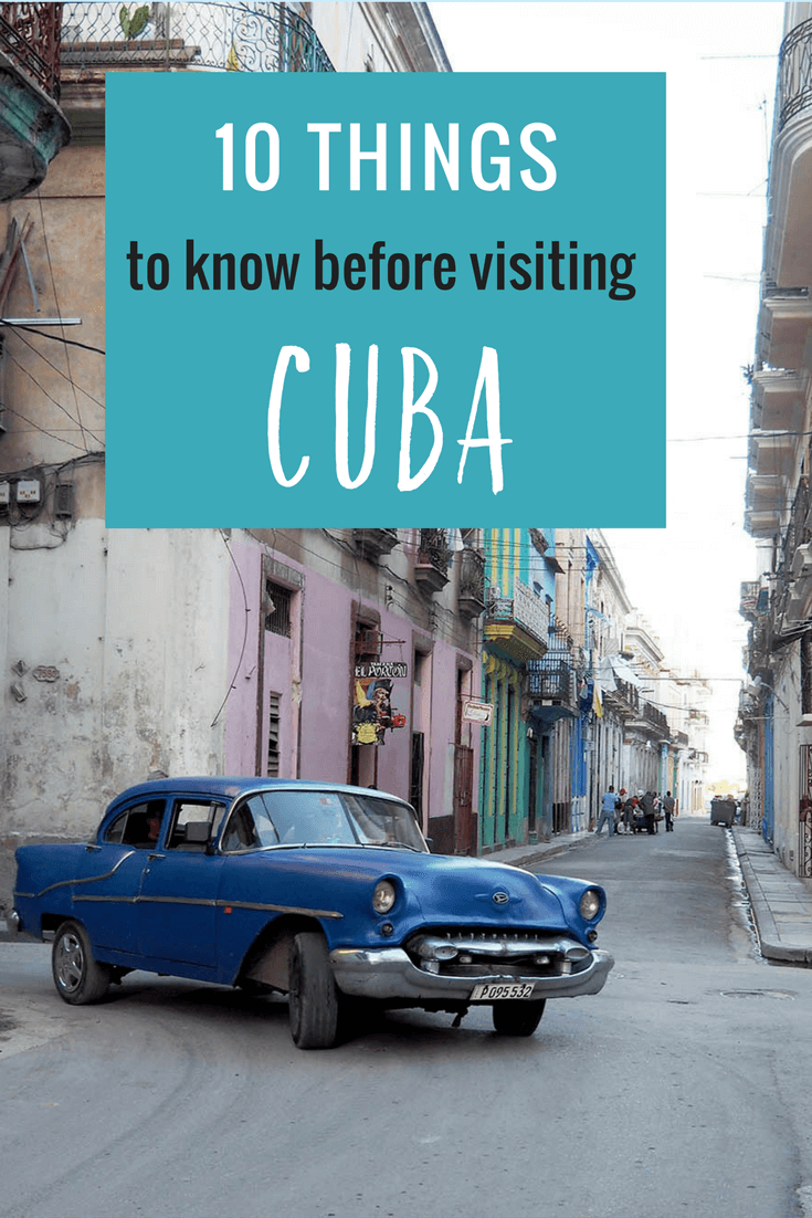 Planning a trip to Cuba? Here are 10 thiongs you should know before traveling to Cuba! #Caribbean #Cuba #CubaTrip