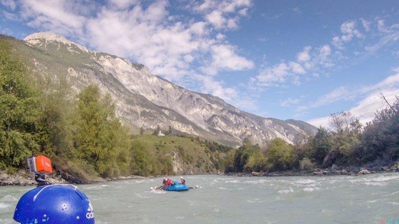 Whitewater Rafting Area 47 Otztal Tirol Austria