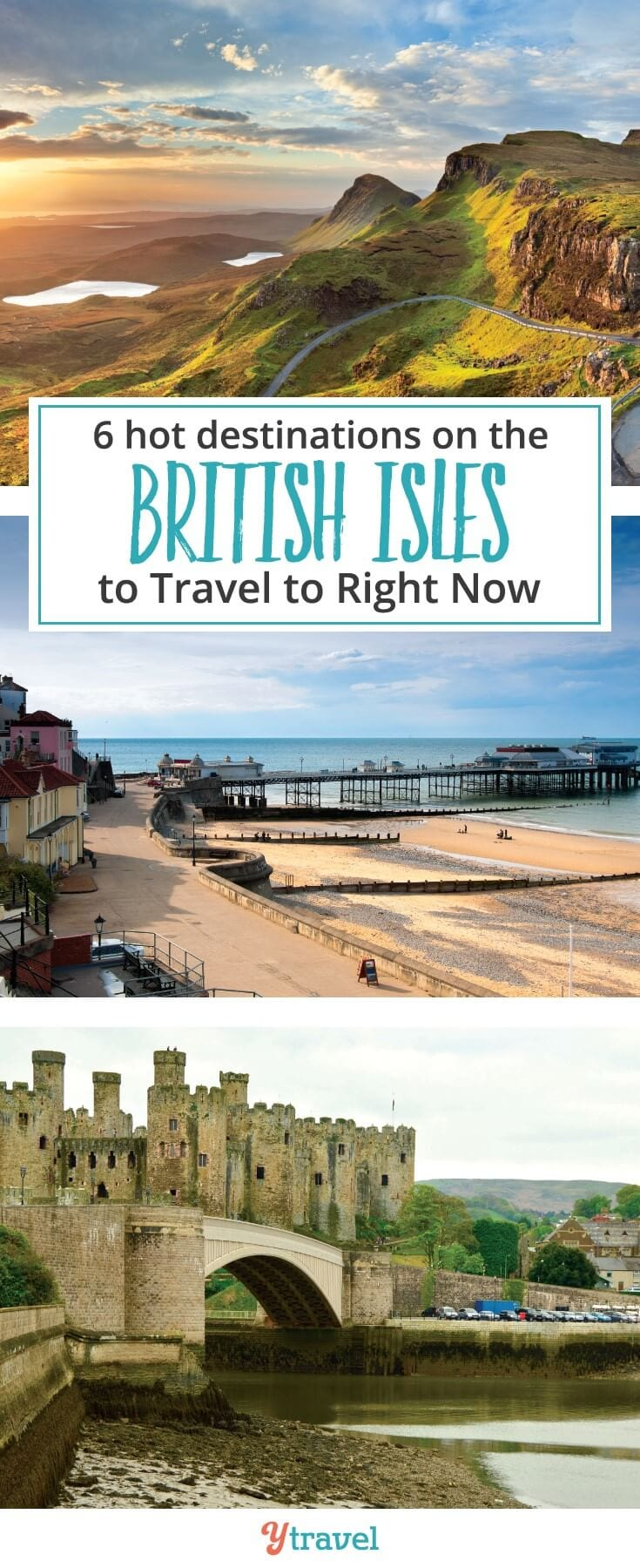 Planning to travel to the UK? Check out these 6 hot destinations on the British Isles to travel to right now. Climbing Mt Snowdon Scotland was a UK highlight for me.