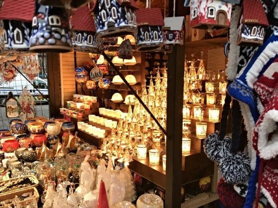 Christmas products, Christmas markets in Prague
