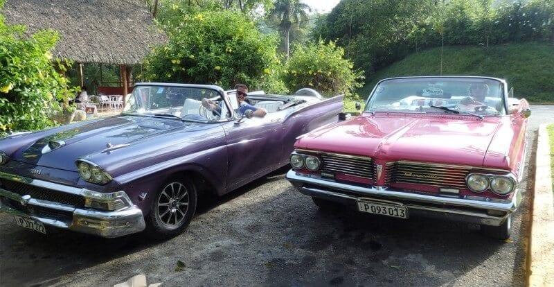 Classic car tour to Vinales Havana Cuba