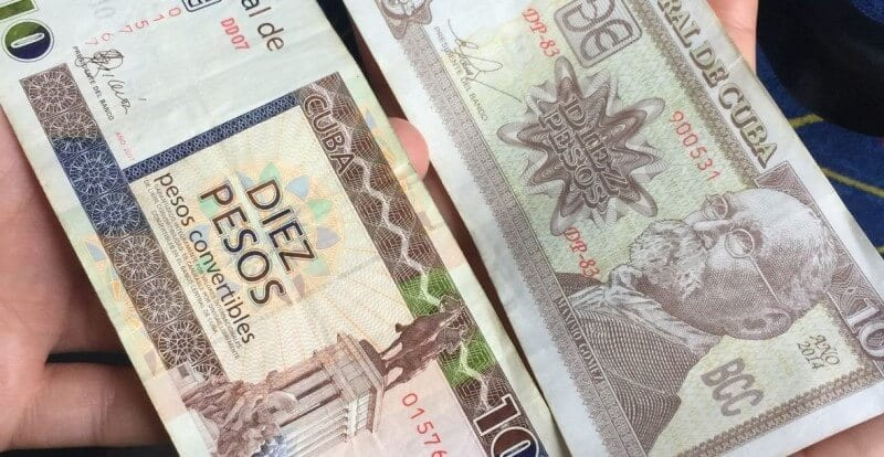 Cuban currency for a trip to Havana