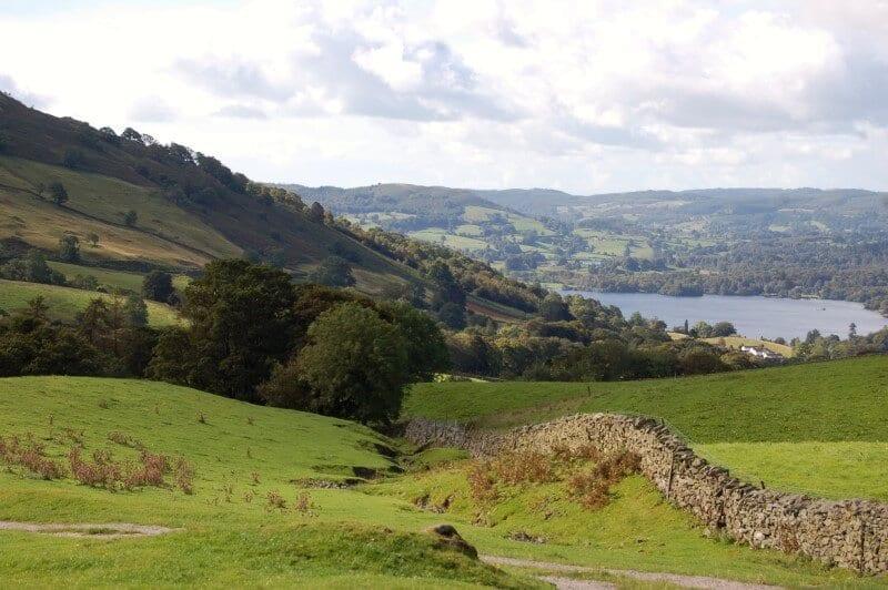 Lakes District British Isles UK travel