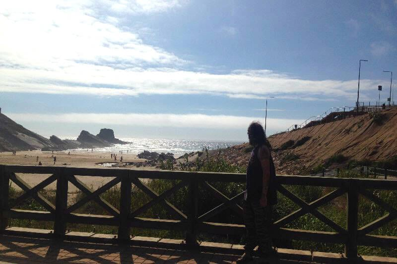 Praia da Zambujeira do Mar - one of the best beaches in Portugal