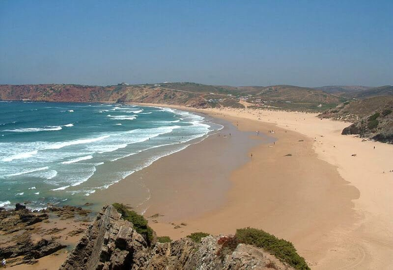 Praia de AmadO - one of the best beaches in Portugal