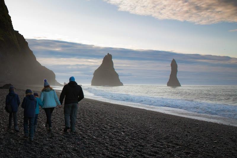 Reynisfjara Black Sand-Beach, Iceland