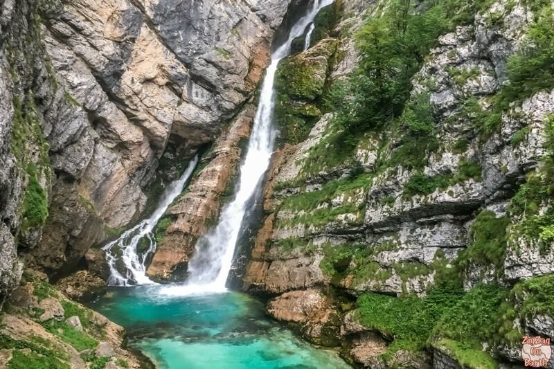 Savica Waterfall - one of the best things to do in Slovenia
