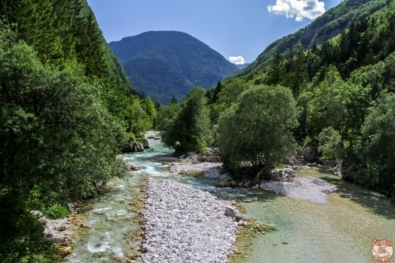 Soca Valley - one of the best places to visit in Slovenia