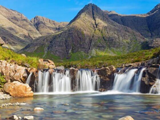 The fairy pools Isle of Skye Scotland British Isles (800 x 534)