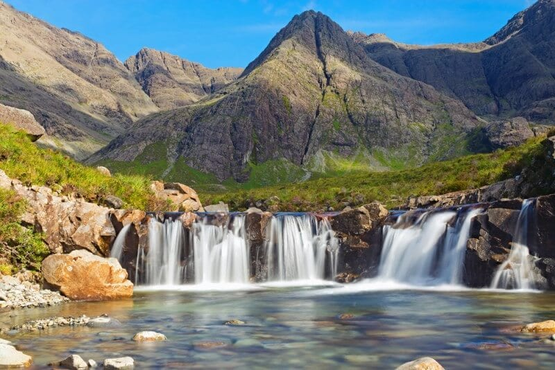 The fairy pools Isle of Skye Scotland British Isles (800 x 534)