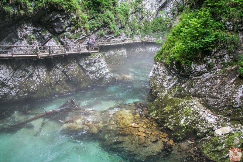 Vintgar Gorge - one of the best things to do in Slovenia