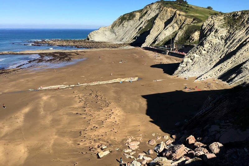 Beautiful Zumaia in the Basque region of Spain
