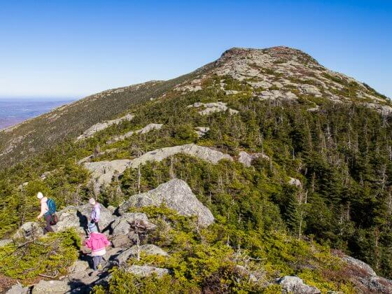 Mount Mansfield family friendly Hike Stowe Vermont