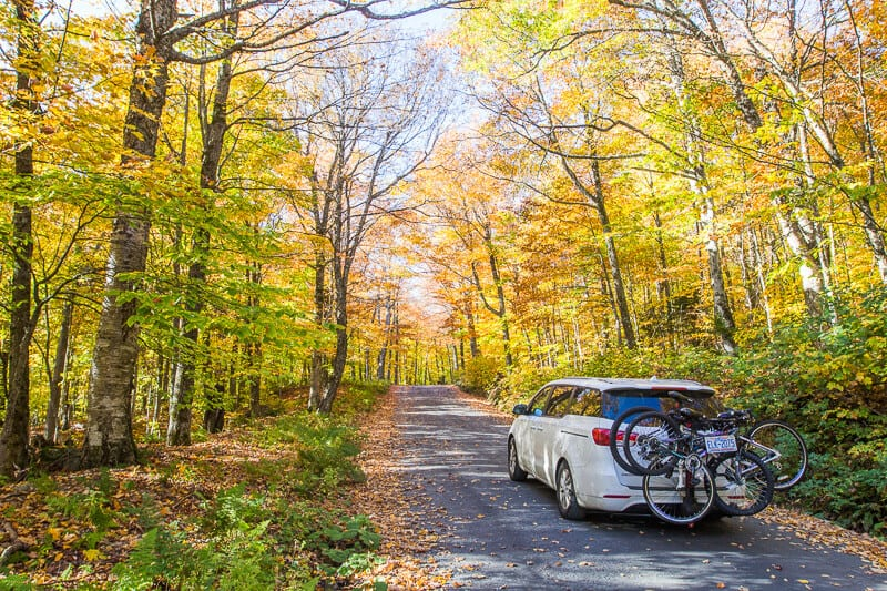 Mount Mansfield toll road Stowe Vermont