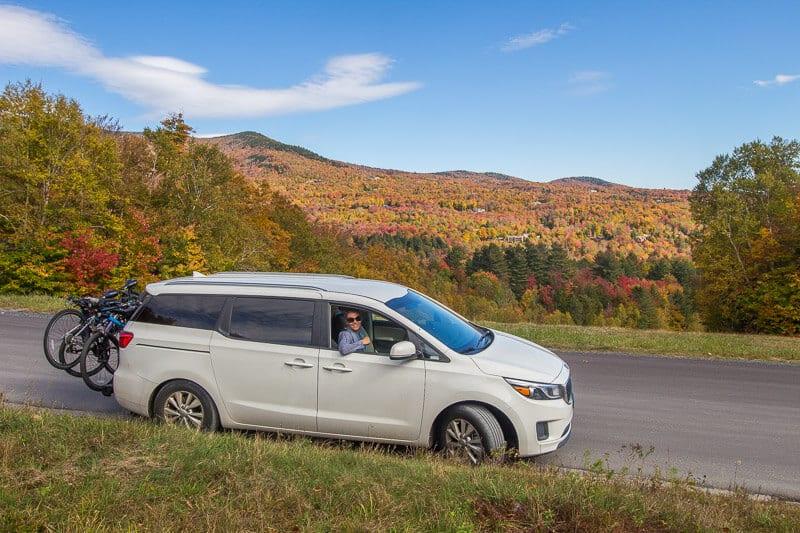 Mt Mansfield toll road Vermont