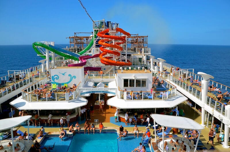 Norwegian Cruise Line - one of the best cruise ships for kids.