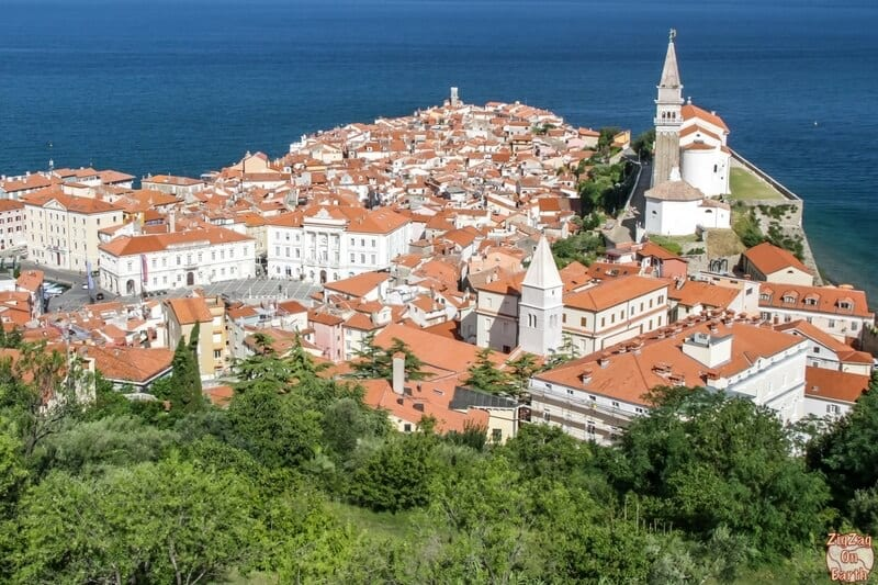 Piran - one of the best places to visit in Slovenia.