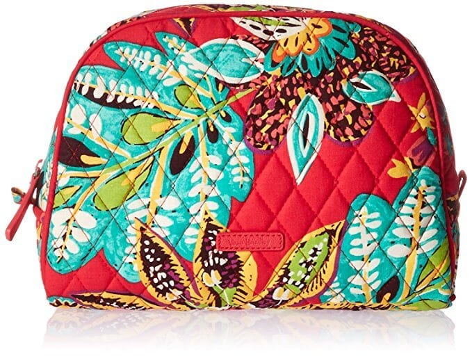 vera bradley cosmetic bag travel gift for her