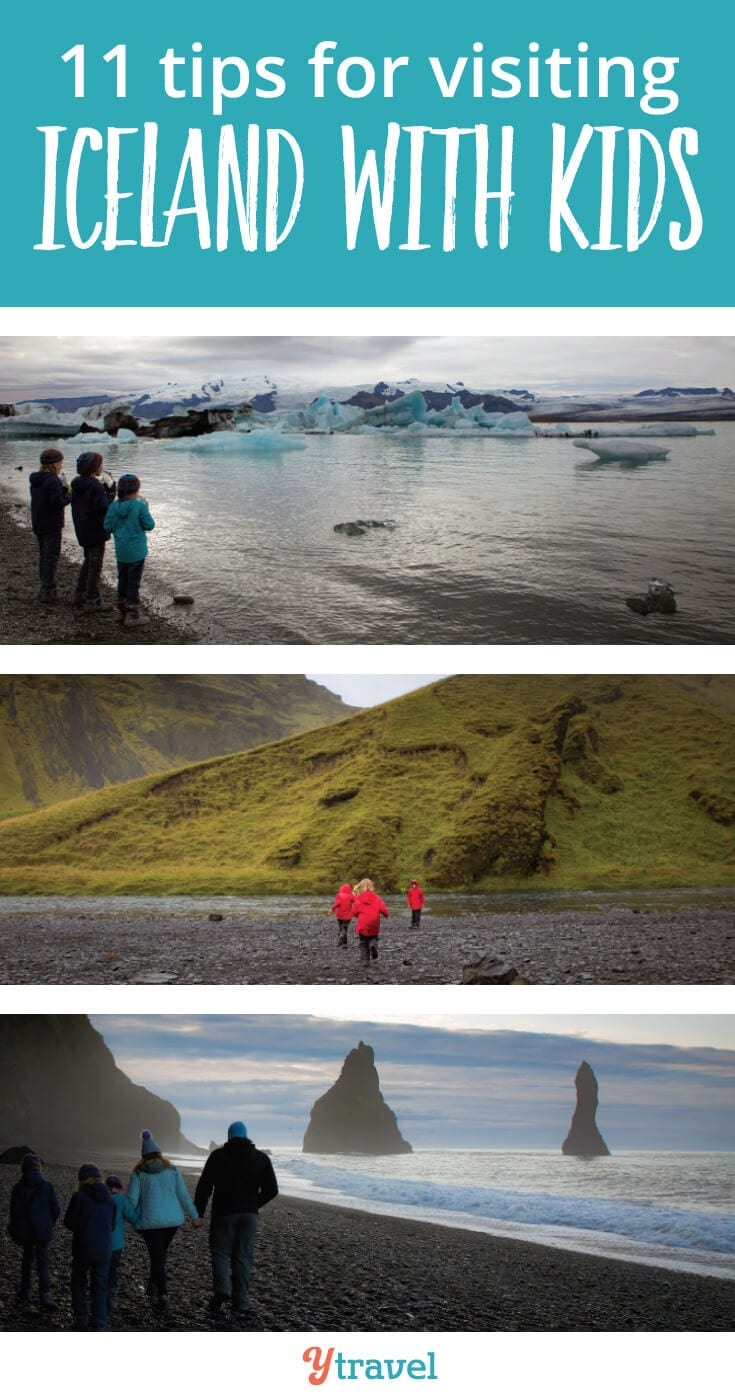 Visiting Iceland with kids. Planning a trip to Iceland? Check out these 11 tips.