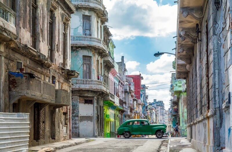 weekend trip to Havana Cuba