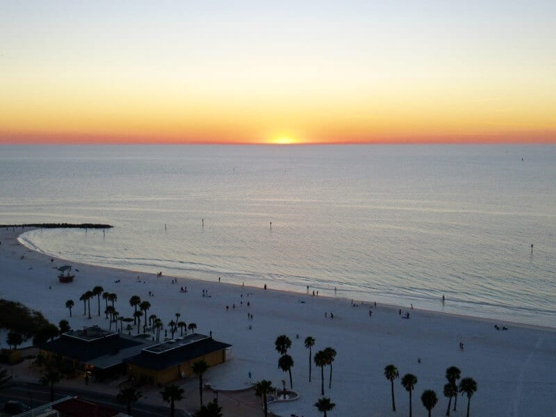 Clearwater Beach Florida A warm winter vacation for families