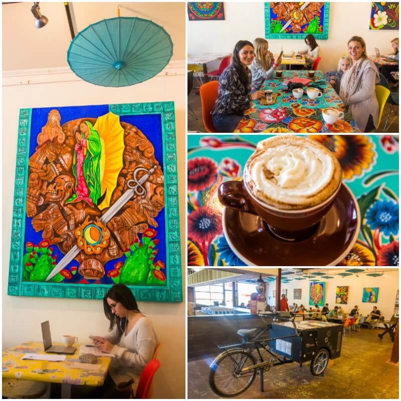 Great coffee at Cocoa Cinnamon Cafe in Durham, North Carolina. #Coffee #Durham #NorthCarolina