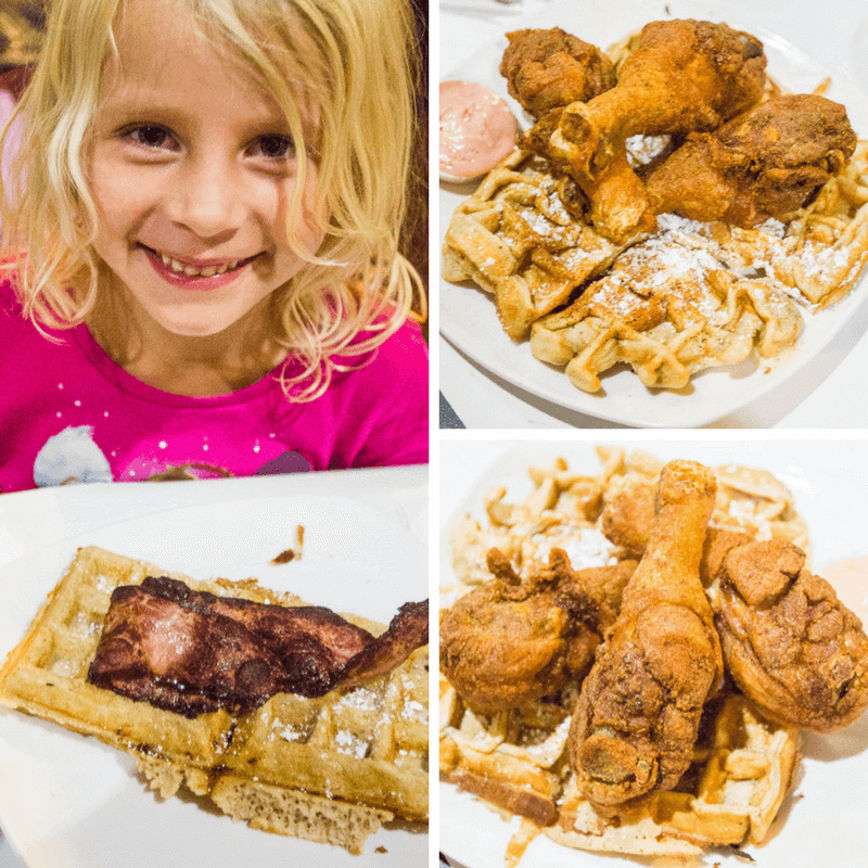 Dame's Chicken and Waffles in Durham NC