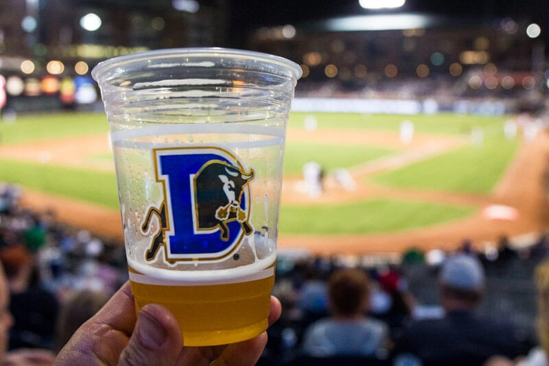 Durham Bulls Baseball Game - family fun in NC