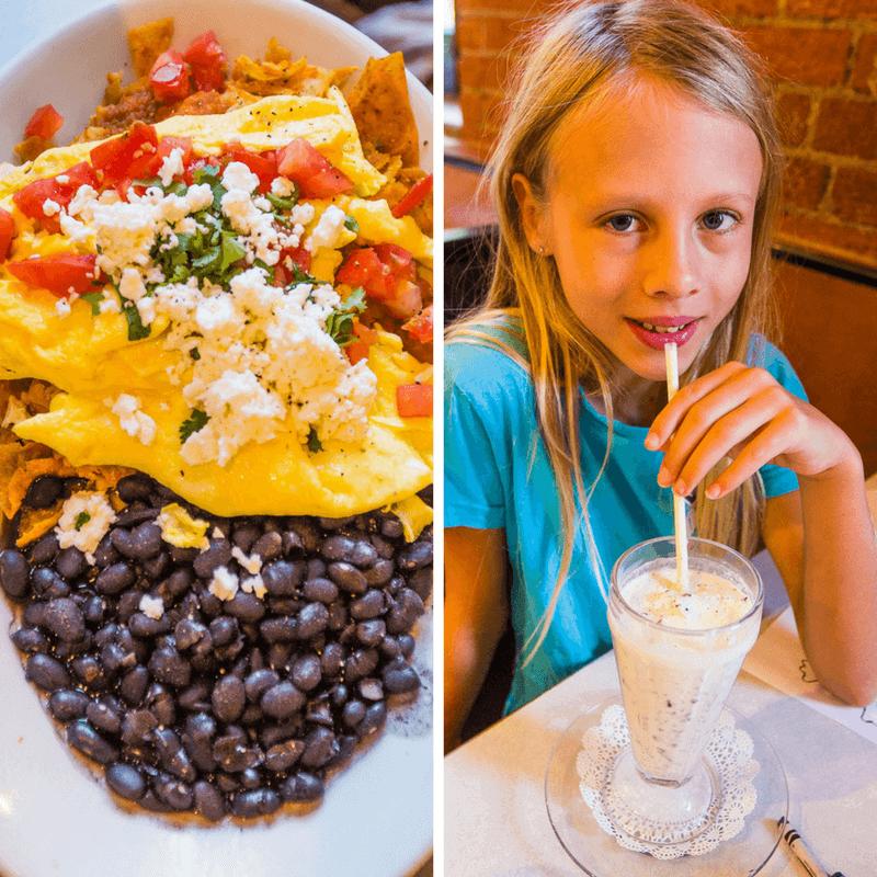 Breakfast at Elmo's Diner in Durham, North Carolina. #Durham #NorthCarolina