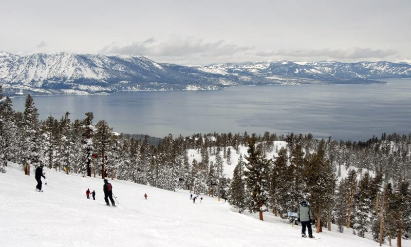 Lake Tahoe best winter vacation for families