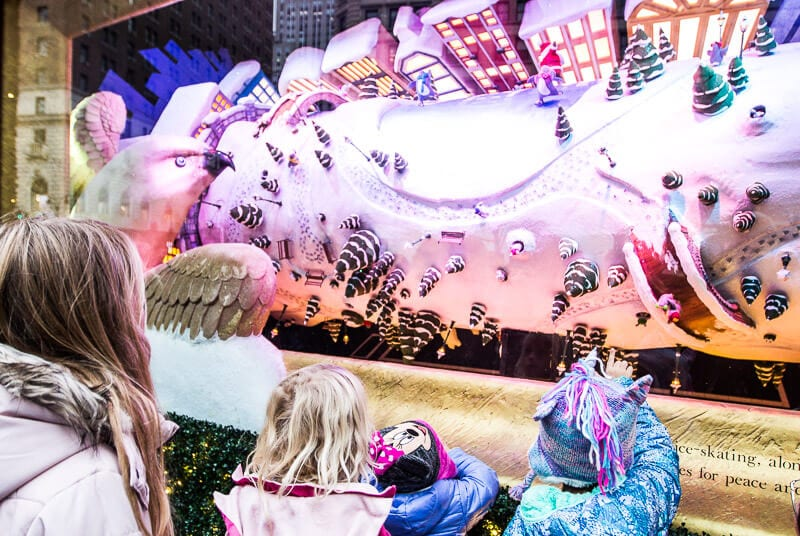 Macys Christmas window display Things to do in New York at Christmas