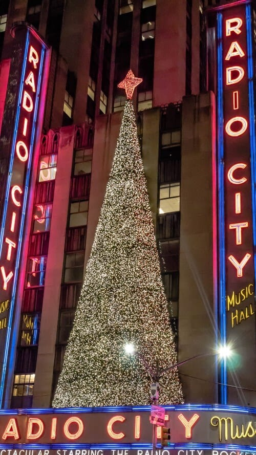 Rockettes Christmas Spectacular, Radio City Hall