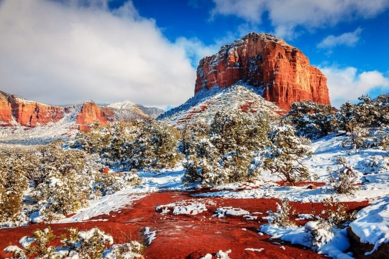 Sedona Arizona Winter vacation