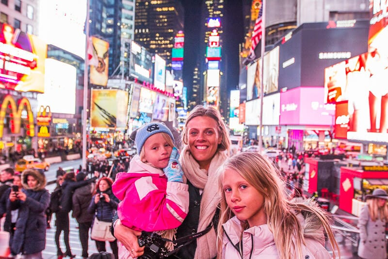 Times Square - Things to do in New at Christmas