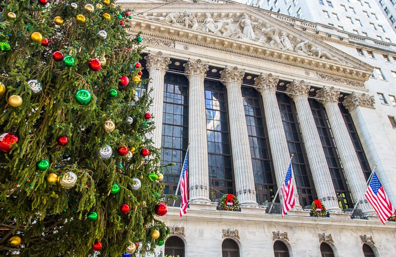 WAll Street for Christmas