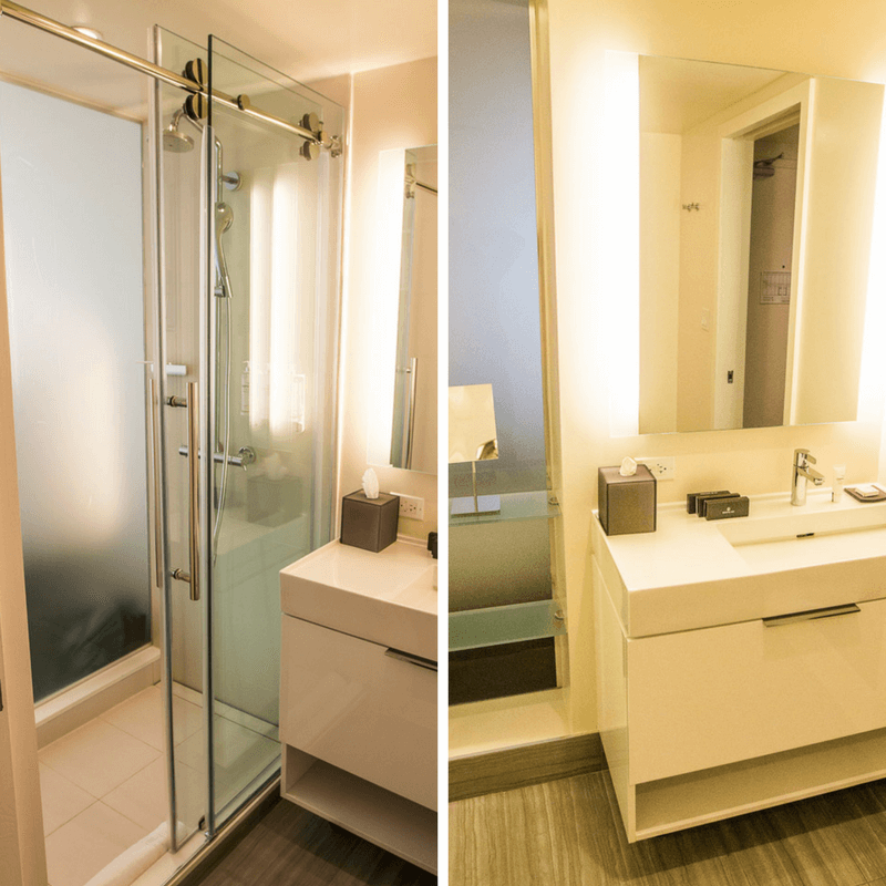 Salle de bains à INNSIDE New York Nomad