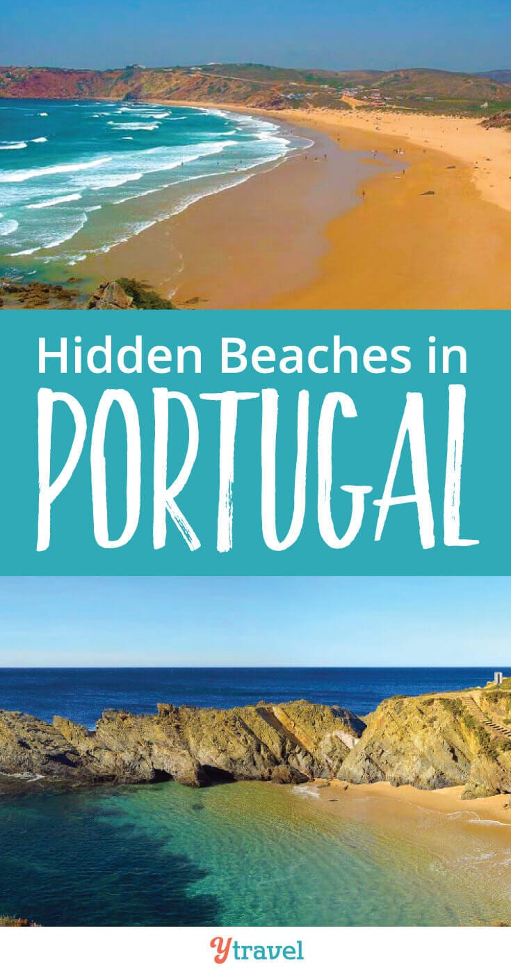 Best beaches in Portugal. Many beaches are popular with tourists. Check out these 7 hidden beaches in Portugal to help you escape the crowds.