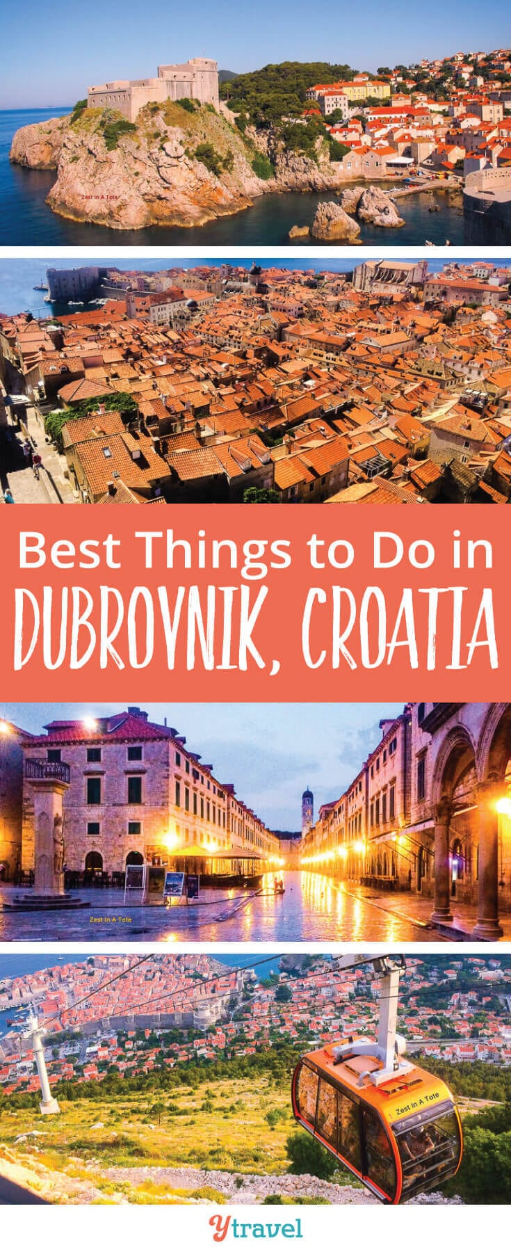 Best things to do in Dubrovnik, Croatia. Tips on what to see and do, where to eat and stay.