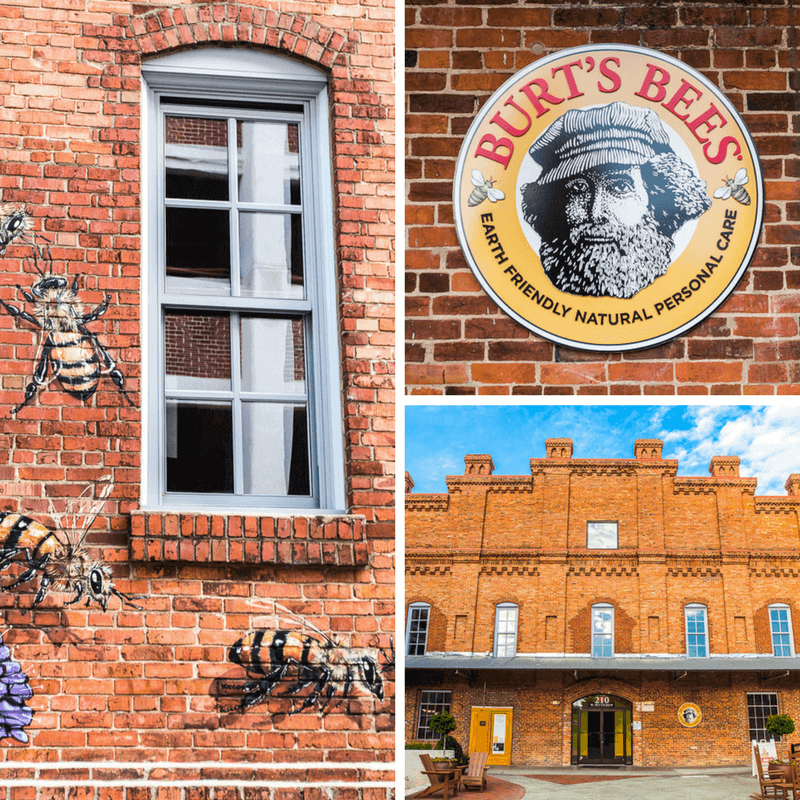Burt's Bees Headquarters in downtown Durham, NC