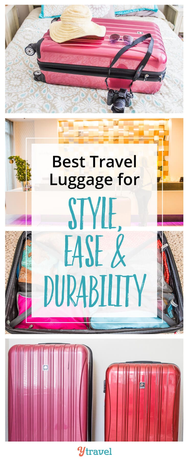 Delsey suitcase review - one of the best travel suitcases for style, ease, and durability.