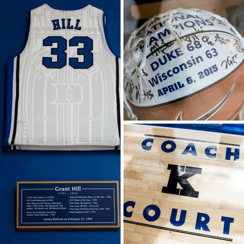 Duke Basketball museum at Cameron Indoor Stadium