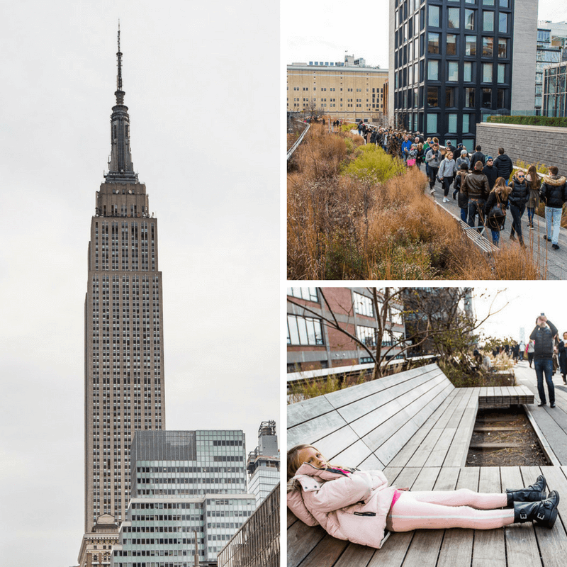 Empire State Building and The High Line in Chelsea. An easy walk from the INNSIDE New York Nomad Hotel.
