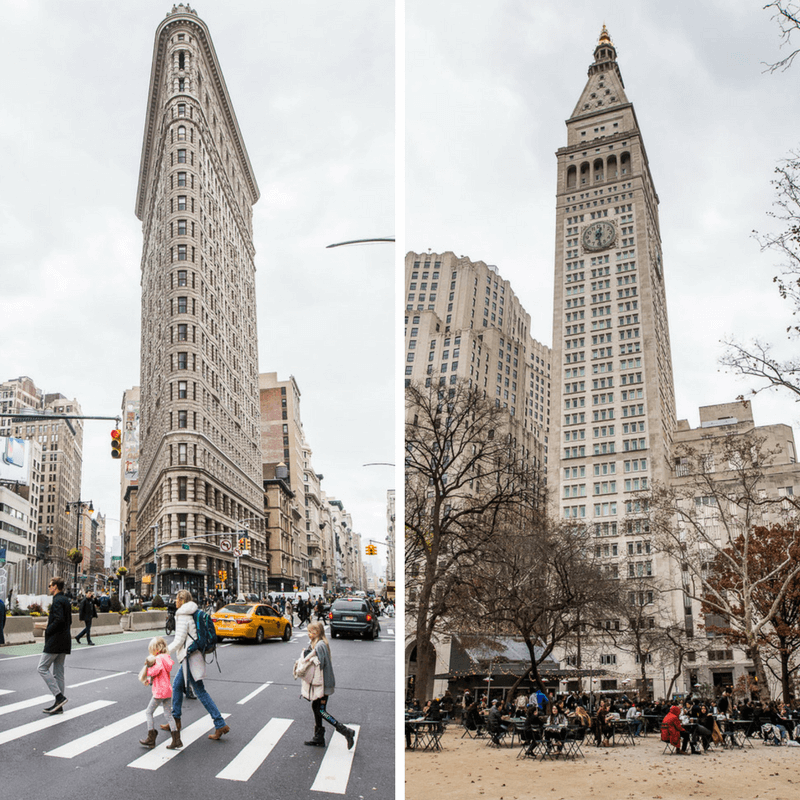 Flatiron District, New York City - Click inside for a 3 day NYC itinerary and the best NYC travel tips!