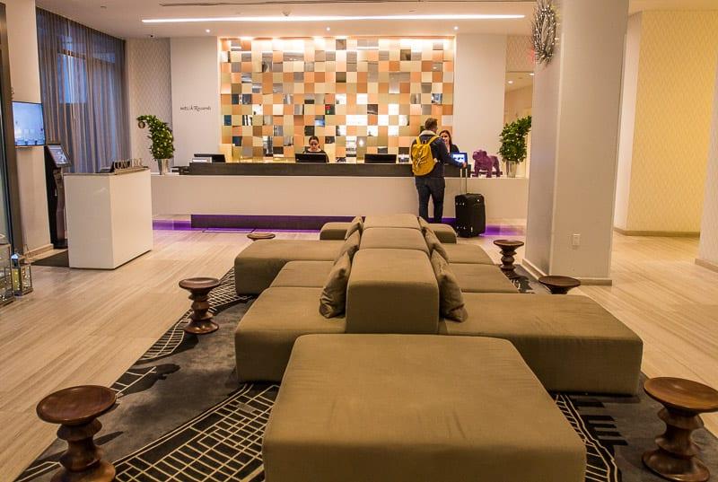 Lobby at INNSIDE New York Nomad Hotel
