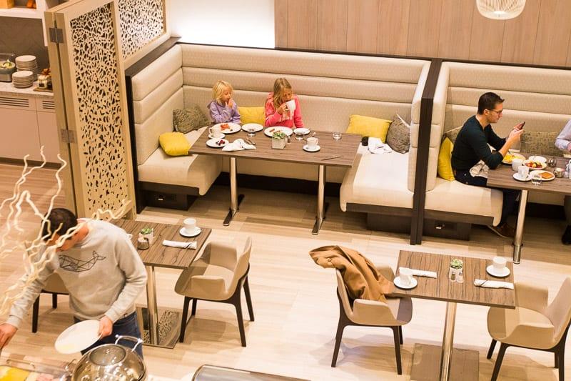 Dining room at INNSIDE New York Nomad Hotel