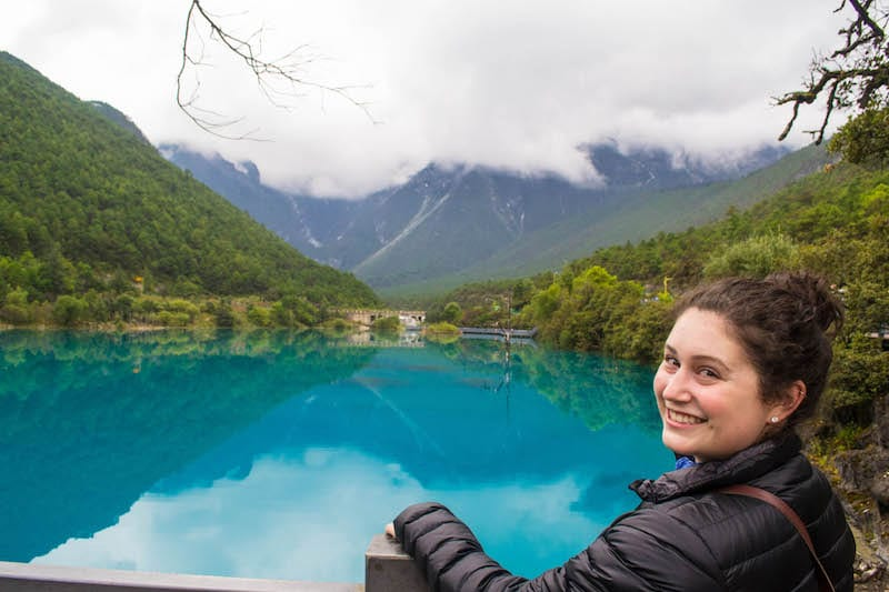 Jiuzhaigou in northern Sichuan, China