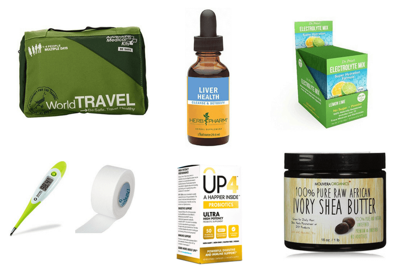 what to pack in a travel medical kit