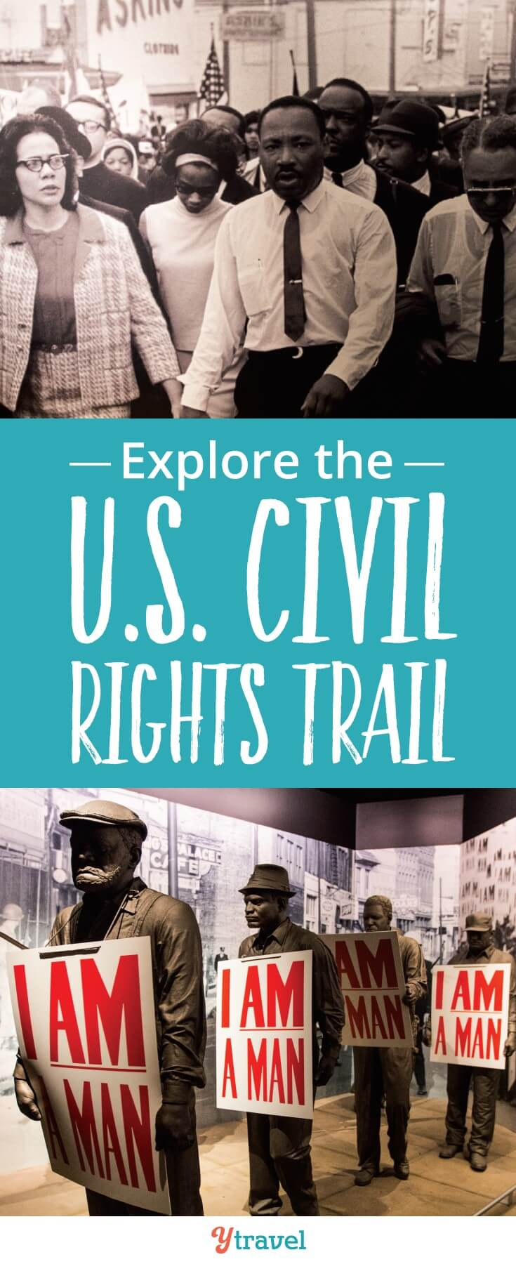 It's important that we learn from history on our travels so we can learn how to create a better tomorrow. The US Civil Rights Trail is great to explore on your US road trip especially with kids #USA #USAtravel #familytravel #civilrights