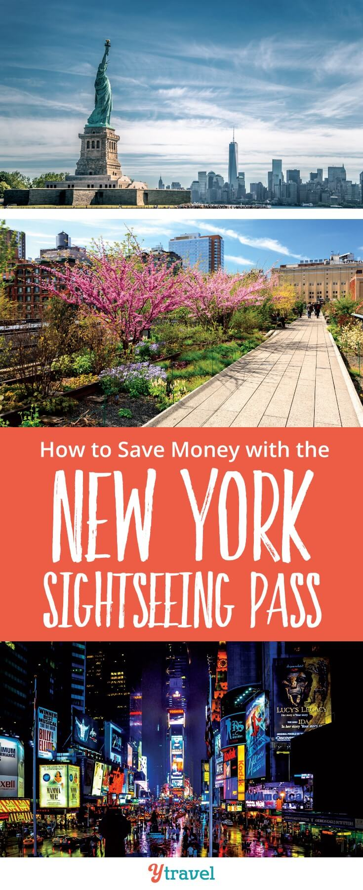 How to save money in New York with the New York Sightseeing pass. We share if the New York attraction passes are worth it and how to get the most out of them when you visit New York City #NYC #newYork #NewYorkTravelTips #traveltips